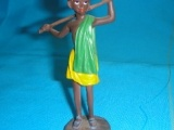 9023-001 Child Figurine Green