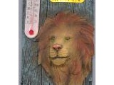 9004-004KE Kenya Lion Thermometer