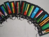 6369 Embroidered Keyholders Available for 15 Countries including Kenya Tanzania Uganda